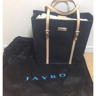 JAYRO - ジャイロ トートバッグ  デニム素材  美品  日本製