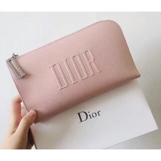 Christian Dior - 【箱付き】Dior ディオール ポーチ ノベルティ コスメポーチ さくらピンク
