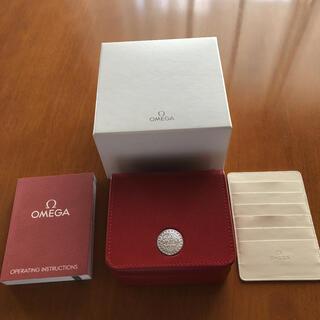 オメガ(OMEGA)のOMEGAの時計用箱 説明書 カードケース(その他)