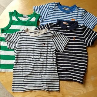 ミキハウス(mikihouse)のミキハウス120Tシャツセット(Tシャツ/カットソー)