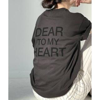 スピックアンドスパン(Spick and Span)のSpick and Span DEAR HEARTバックロゴT(Tシャツ(半袖/袖なし))