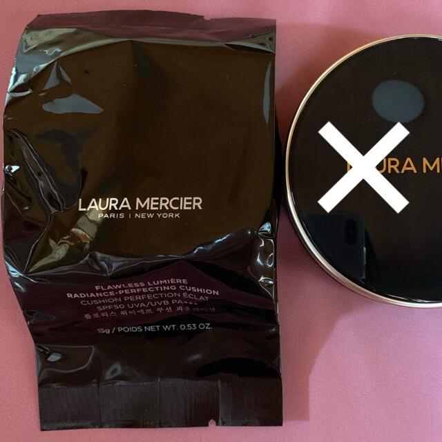 laura mercier(ローラメルシエ)の新品 ローラメルシエ クッションファンデーション レフィルのみ 1W1 リフィル コスメ/美容のベースメイク/化粧品(ファンデーション)の商品写真