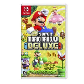 ニンテンドースイッチ(Nintendo Switch)の新品未開封New スーパーマリオブラザーズ U デラックス(携帯用ゲームソフト)