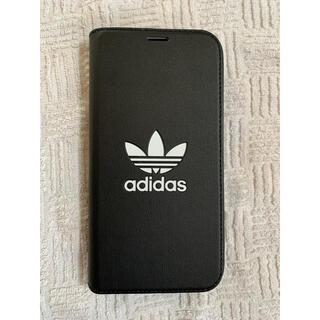 アディダス(adidas)のiPhone12 adidas 手帳型ケース(iPhoneケース)