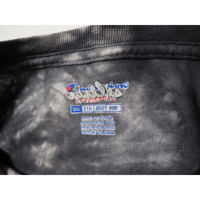 UNUSED(アンユーズド)のsillage IMAZINE別注 champion タイダイ ロンT 初期 メンズのトップス(Tシャツ/カットソー(七分/長袖))の商品写真
