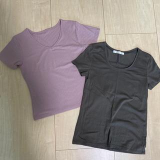 アズールバイマウジー(AZUL by moussy)の2セット(Tシャツ(半袖/袖なし))