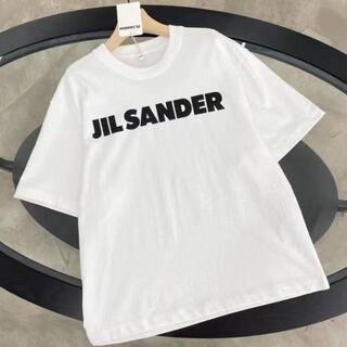 Jil Sander - ☆Jil Sander☆コット ロゴTシャツ