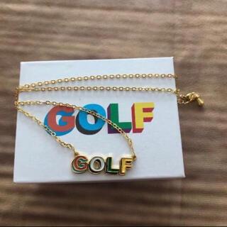Supreme - golf wang ネックレス ゴルフワン 新品 ゴールド