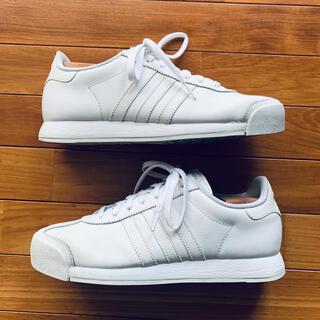 アディダス(adidas)のAdidas Samoa アディダス サモア ホワイト 27cm ベッカム着用(スニーカー)