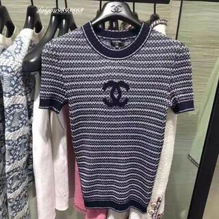 シャネル(CHANEL)のシャネルトップ(Tシャツ(半袖/袖なし))
