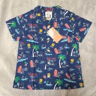 ファミリア(familiar)のfamiliar(ファミリア) スヌーピー 半袖シャツ 120cm(Tシャツ/カットソー)