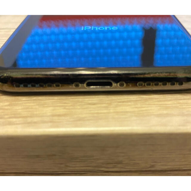 iPhone(アイフォーン)のiPhone x 本体 256GB SIMフリー スマホ/家電/カメラのスマートフォン/携帯電話(スマートフォン本体)の商品写真