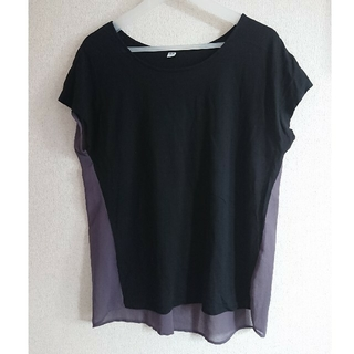 ユニクロ(UNIQLO)のユニクロ コンビネーションTシャツ(Tシャツ(半袖/袖なし))