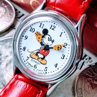 Disney - #1329【可愛いミッキーマウス】レディース 腕時計 ローラス LORUS