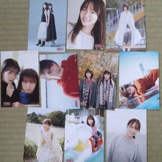 ケヤキザカフォーティーシックス(欅坂46(けやき坂46))の櫻坂46 ポストカード 10枚セット 週刊少年マガジン(アイドルグッズ)