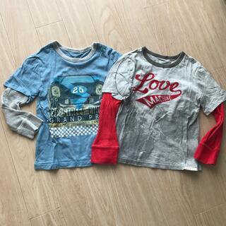 ベビーギャップ(babyGAP)のbaby Gap☆サイズ105☆重ね着風長袖Tシャツ⭐︎2枚セット(Tシャツ/カットソー)