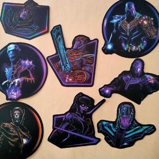 マーベル(MARVEL)のサノス ブラックオーダー ステッカーセット アベンジャーズ エンドゲーム(キャラクターグッズ)
