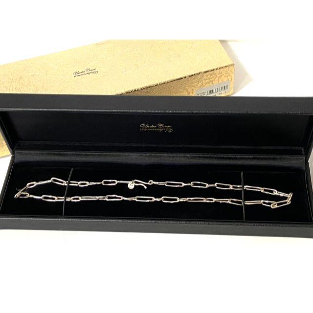 UNDERCOVER(アンダーカバー)のR304-77)アンダーカバー 21ss jonio愛用 シルバーネックレス メンズのアクセサリー(ネックレス)の商品写真