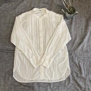 ユニクロ(UNIQLO)の白いシャツ*ユニクロ(シャツ/ブラウス(長袖/七分))