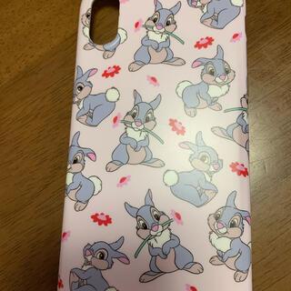 ディズニー(Disney)のiPhoneXSケース とんすけ うさぎちゃん(iPhoneケース)