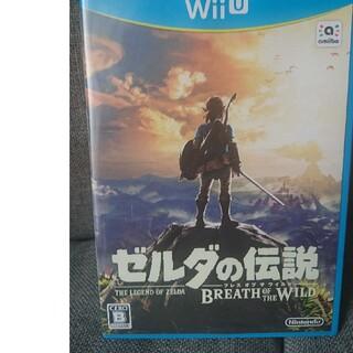 ウィーユー(Wii U)のゼルダの伝説ブレスオブザワイルド(家庭用ゲームソフト)