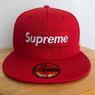 Supreme - Supreme Mesh Box Logo New Era【7 3/8】