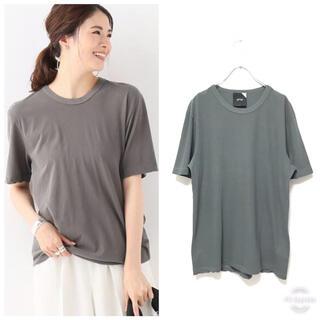 ドゥーズィエムクラス(DEUXIEME CLASSE)の19ss ATON エイトン Fresca ユニセックス クルーネック Tシャツ(Tシャツ(半袖/袖なし))