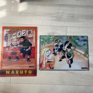 NARUTO展 下敷き(クリアファイル)