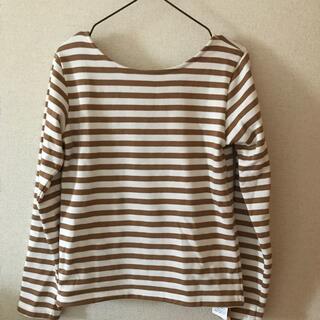 ルミノア(Le Minor)のmeri バックオープンTシャツ(カットソー(長袖/七分))