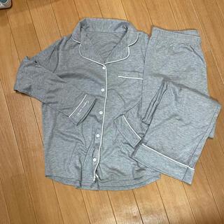 ジーユー(GU)のGU パジャマ グレー Lサイズ(パジャマ)