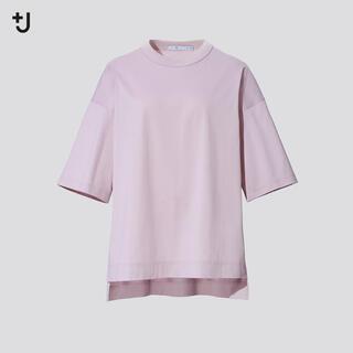 ユニクロ(UNIQLO)のユニクロ スーピマコットン オーバーサイズT +J(Tシャツ(半袖/袖なし))