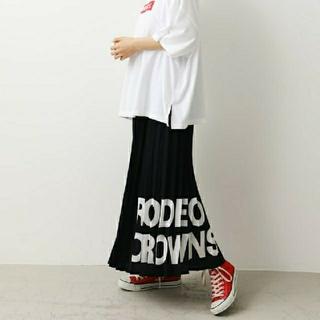 RODEO CROWNS WIDE BOWL - ロデオクラウンズワイドボウル ビッグアイコンプリーツスカート 新品未使用