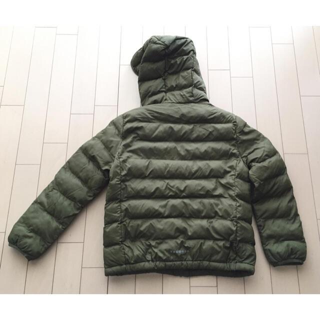 UNIQLO(ユニクロ)のユニクロ  キッズ  ライトウォーム パデットパーカー(140) キッズ/ベビー/マタニティのキッズ服男の子用(90cm~)(ジャケット/上着)の商品写真