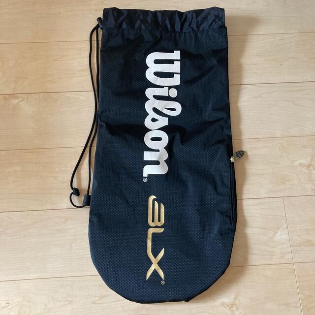 wilson(ウィルソン)のウィルソン テニスラケット袋 スポーツ/アウトドアのテニス(バッグ)の商品写真