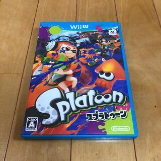 ウィーユー(Wii U)のSplatoon(スプラトゥーン) Wii U(家庭用ゲームソフト)