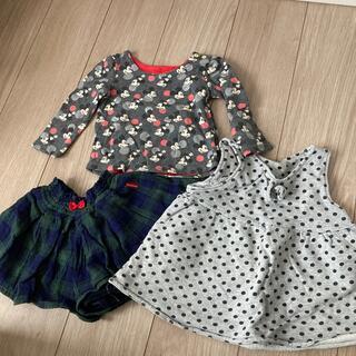 ベビーギャップ(babyGAP)の女の子 90センチ 服(Tシャツ/カットソー)
