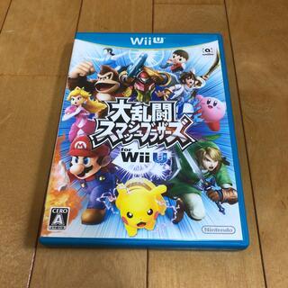 ウィーユー(Wii U)の大乱闘スマッシュブラザーズ for Wii U Wii U(家庭用ゲームソフト)