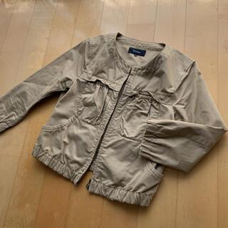 マカフィー(MACPHEE)のトゥモローランド*MACPHEE*七分袖ジャケット(ノーカラージャケット)