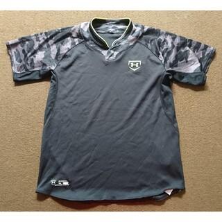 UNDER ARMOUR - アンダーアーマー  野球(スポーツウエア)  ベースボールシャツ