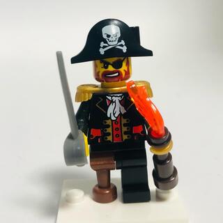 レゴ(Lego)の正規品☆LEGO☆ミニフィグ ☆海賊船長(知育玩具)