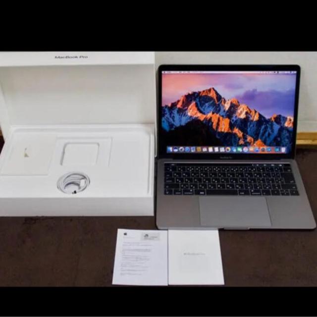 Apple(アップル)のApple MacBook Pro 13インチ スペースグレー スマホ/家電/カメラのPC/タブレット(ノートPC)の商品写真