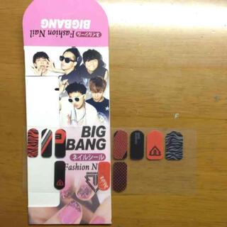 ビッグバン(BIGBANG)のBIGBANG♡ネイルシール(ミュージシャン)