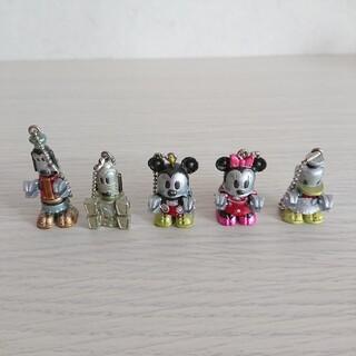 ディズニー(Disney)のディズニー ロボ ミニフィギュア キーホルダー(キーホルダー)