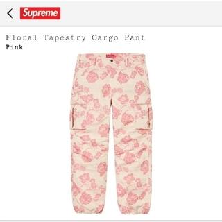 シュプリーム(Supreme)のsupreme Floral Tapestry Cargo Pant(ワークパンツ/カーゴパンツ)