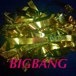 ビッグバン(BIGBANG)のBIGBANG♡金テープ(ミュージシャン)
