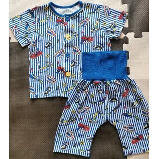 しまむら - 【未着用】半袖はたらく車パジャマ (サイズ100)