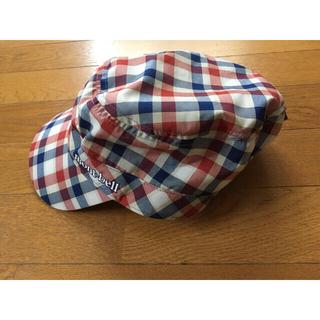 モンベル(mont bell)の美品 モンベル mont-bell チェック帽子(その他)