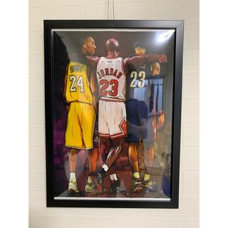 NBA キャンバス ジョーダン コービー レブロン(ボードキャンバス)