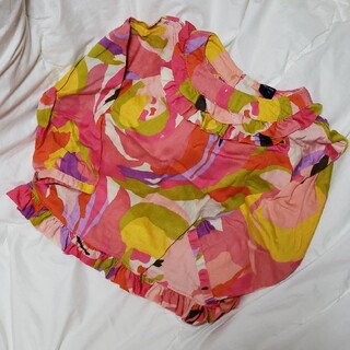 babyGAP - babyGAP プッチ柄 フリルシャツ 90cm