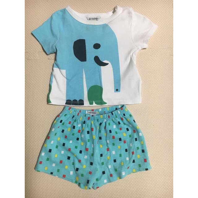 marimekko(マリメッコ)の*marimekko マリメッコ  *6M /68 セット キッズ/ベビー/マタニティのベビー服(~85cm)(Tシャツ)の商品写真